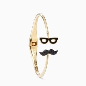 Kate Spade Dress the Part Mustache Bangle